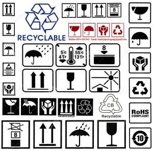 Ý nghĩa của các biểu tượng- ký hiệu ghi trên thùng carton